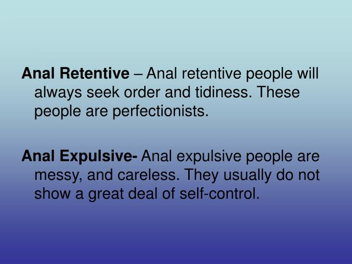 Freud Anal Retentive 67