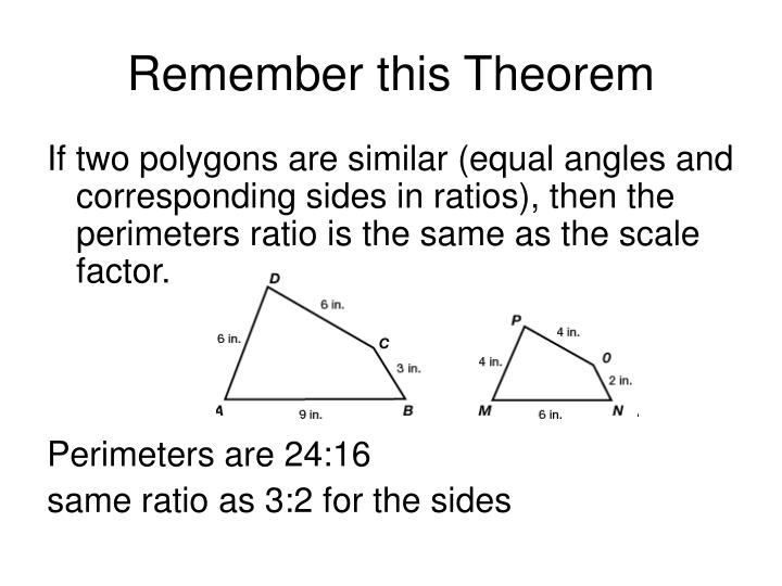 Remember this Theorem