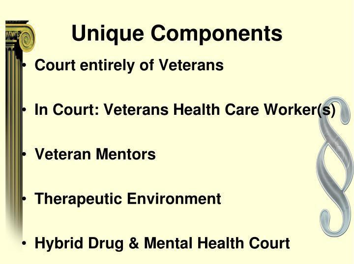 Unique Components
