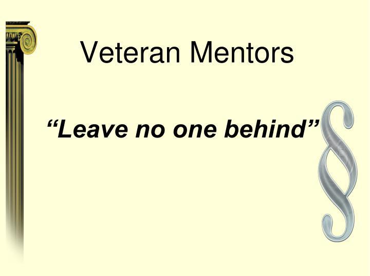 Veteran Mentors