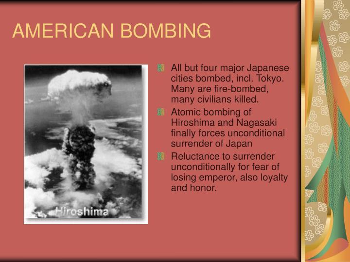 AMERICAN BOMBING