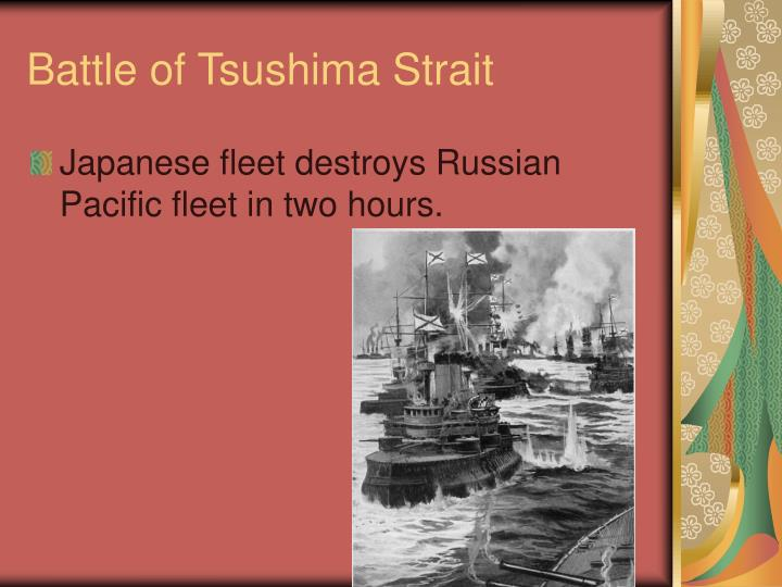 Battle of Tsushima Strait