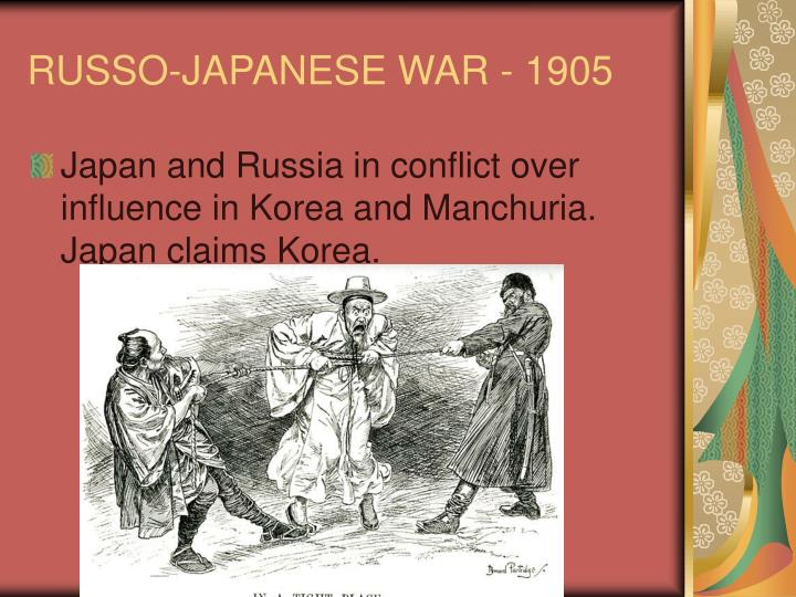 RUSSO-JAPANESE WAR - 1905