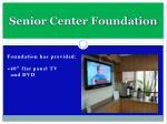 senior center foundation7