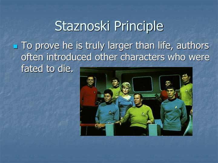 Staznoski Principle
