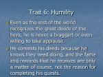 trait 6 humility