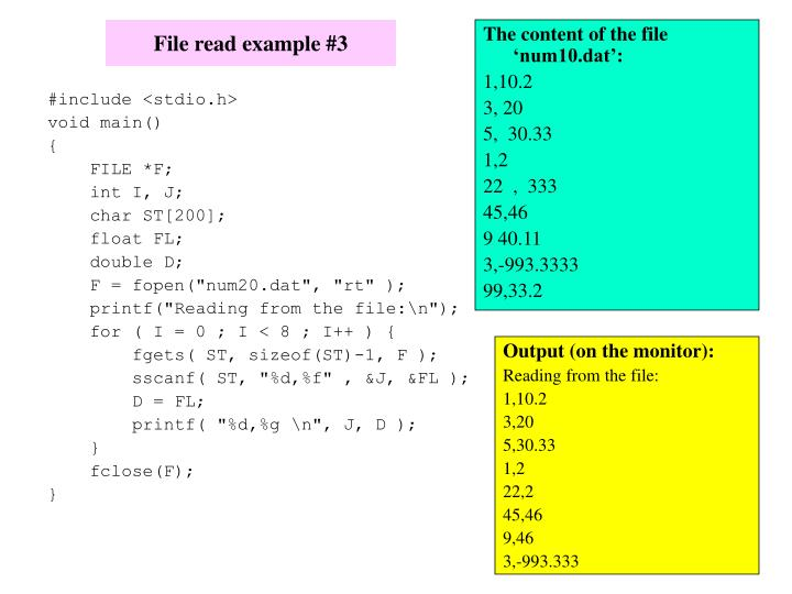 The content of the file 'num10.dat':