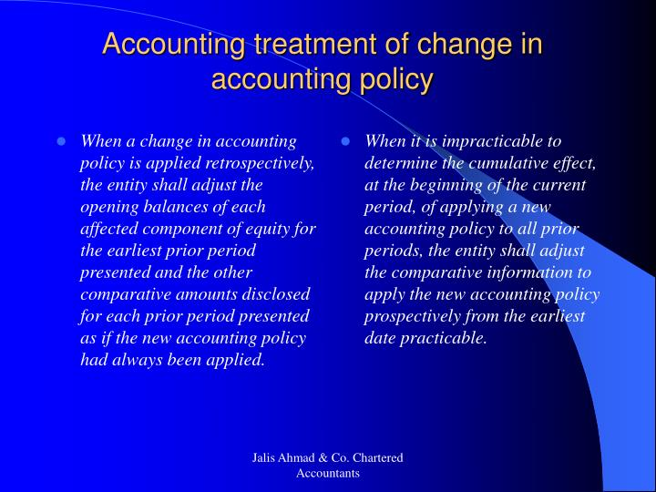 When a change in accounting policy is applied retrospectively, the entity shall adjust the opening balances of each affected component of equity for the earliest prior period presented and the other comparative amounts disclosed for each prior period presented as if the new accounting policy had always been applied.
