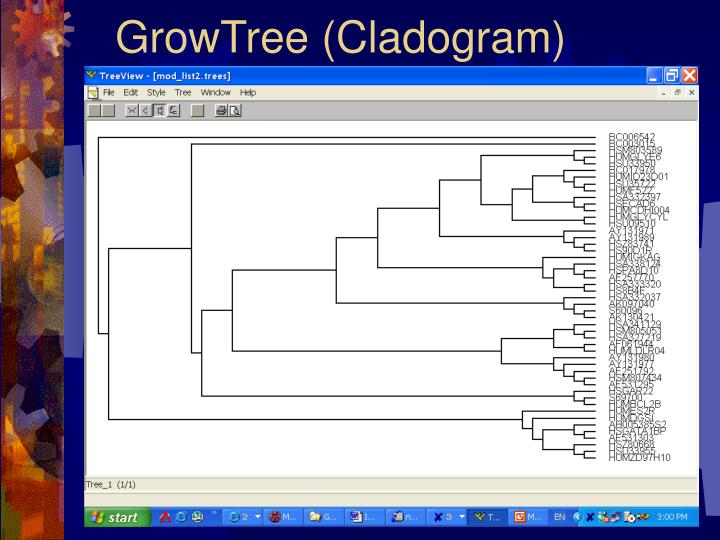 GrowTree (Cladogram)
