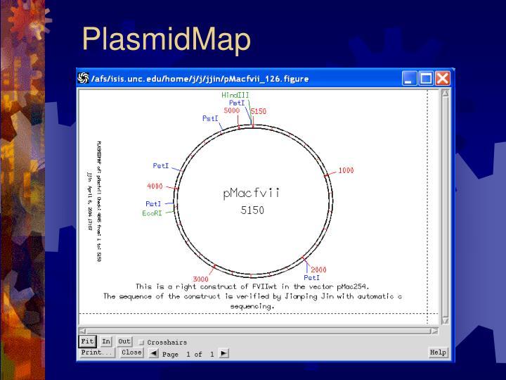 PlasmidMap