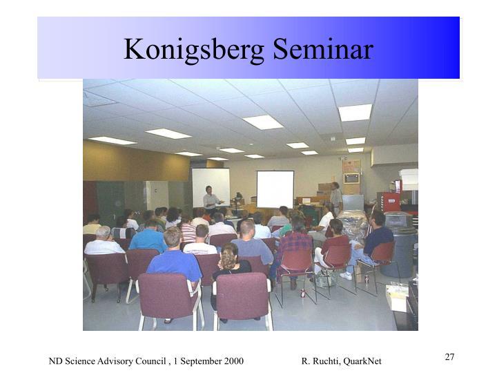 Konigsberg Seminar