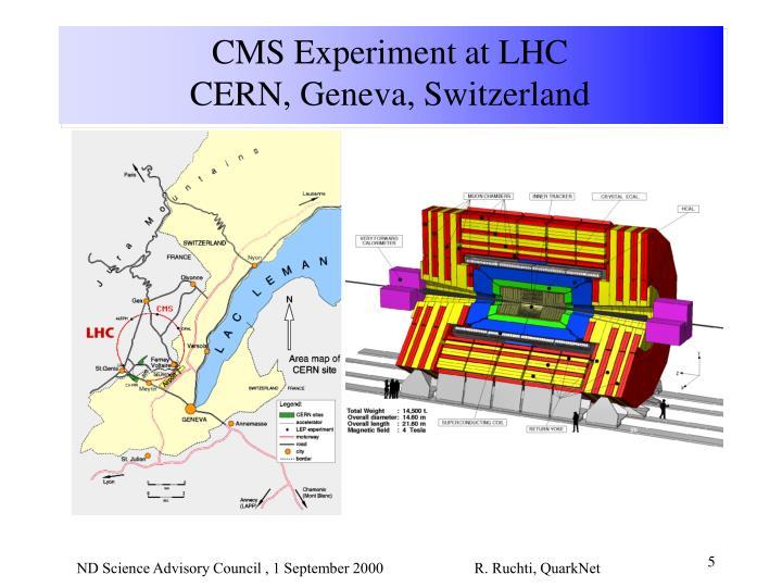 CMS Experiment at LHC