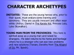 character archetypes1