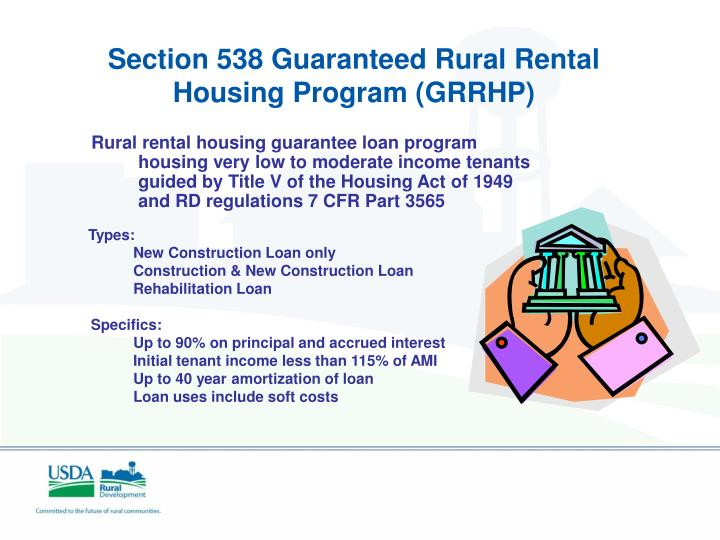Section 538 Guaranteed Rural Rental Housing Program (GRRHP)