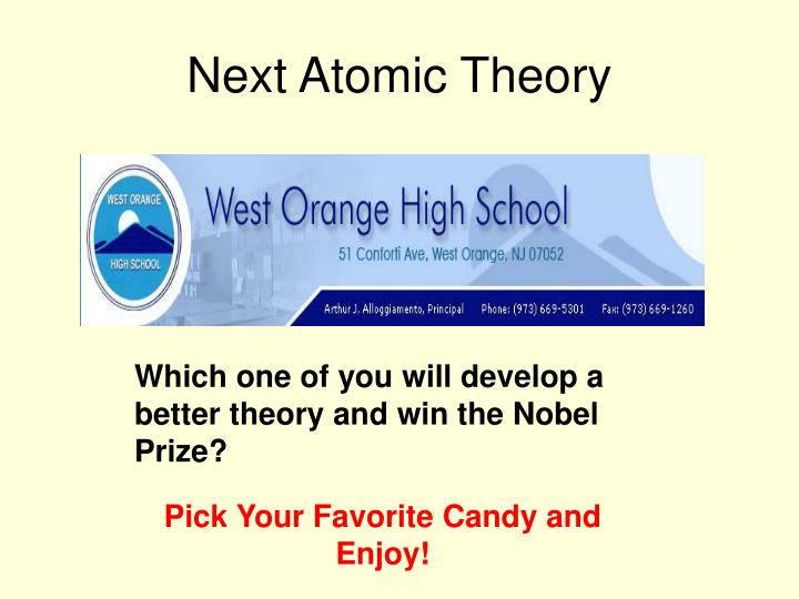 Next Atomic Theory