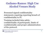 guilamo ramos high use alcohol venues study3