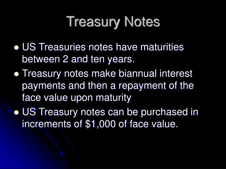 Treasury notes