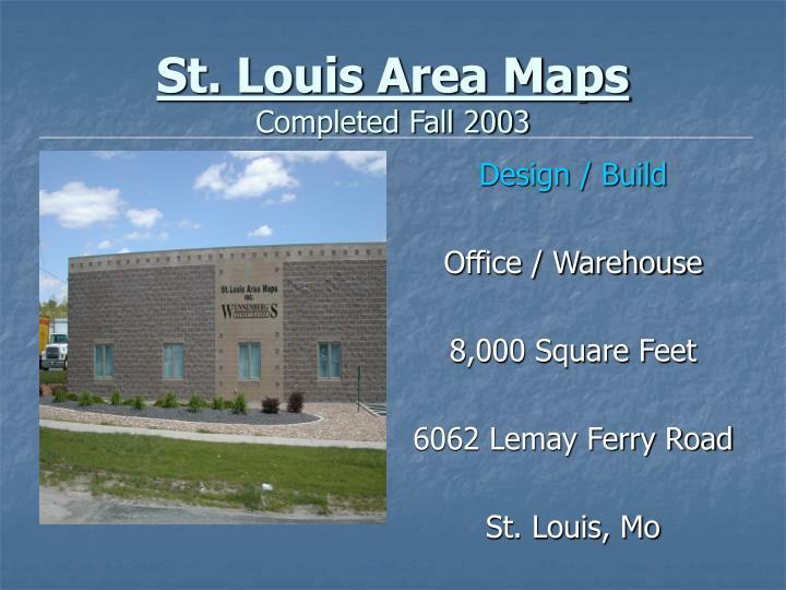 St. Louis Area Maps