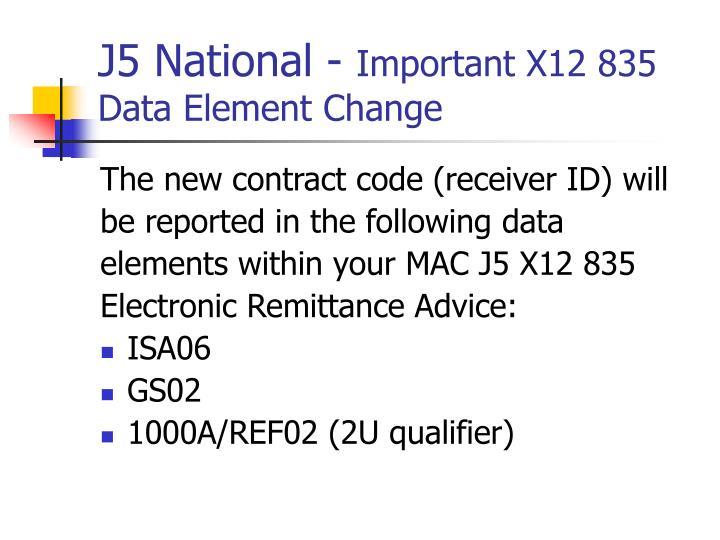 J5 National -