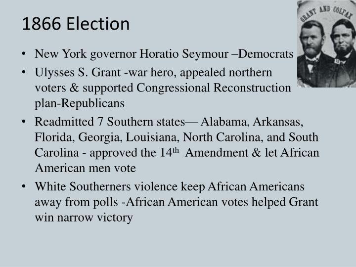1866 Election