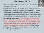 election of 18761