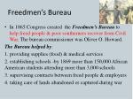 freedmen s bureau