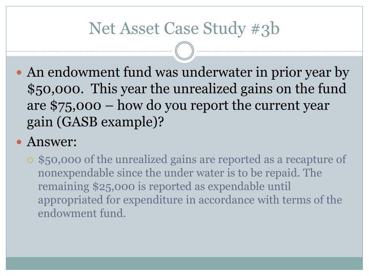 Net Asset Case Study #