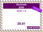 decimals 300