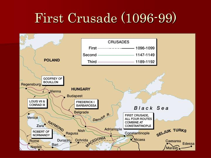First Crusade (1096-99)