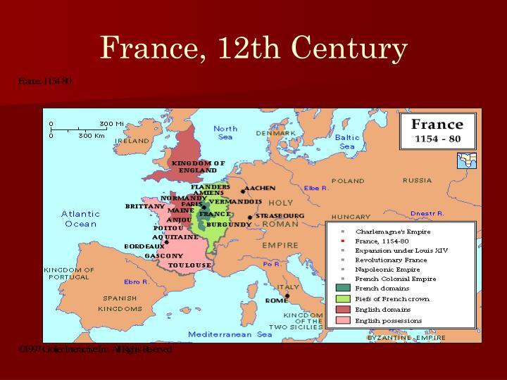 France, 12th Century