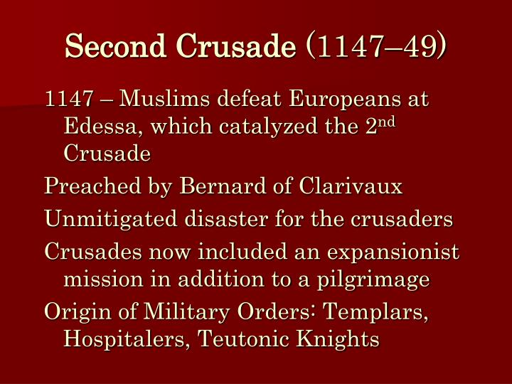 Second Crusade