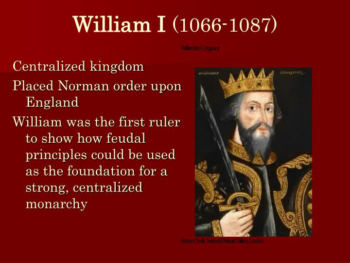 William I