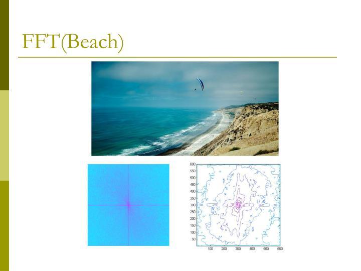 FFT(Beach)