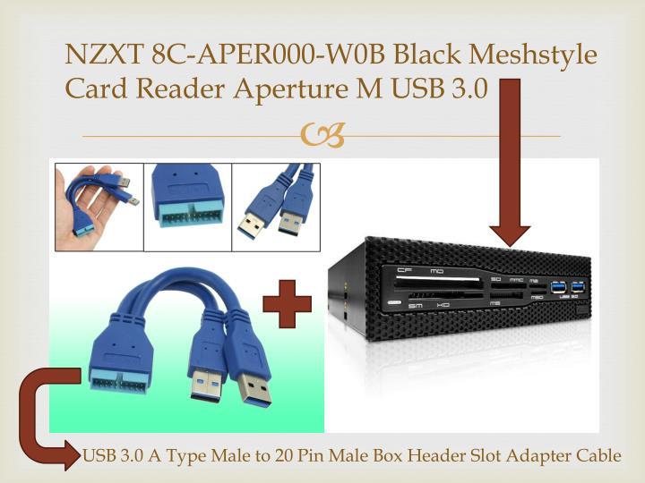 NZXT 8C-APER000-W0B Black