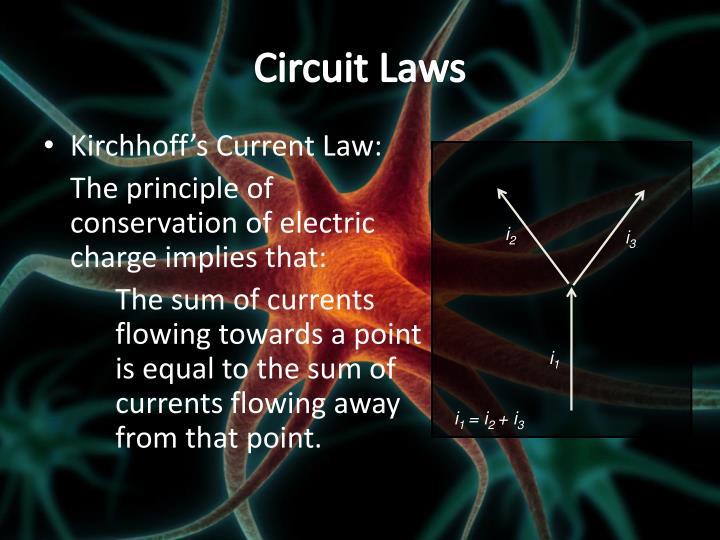 Circuit Laws