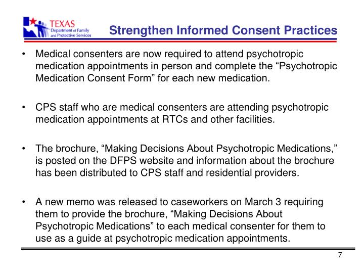Strengthen Informed Consent Practices
