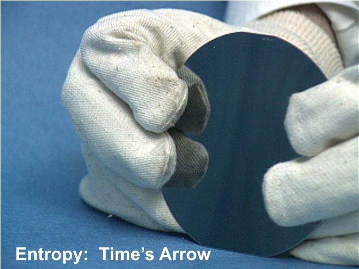 Entropy:  Time's Arrow