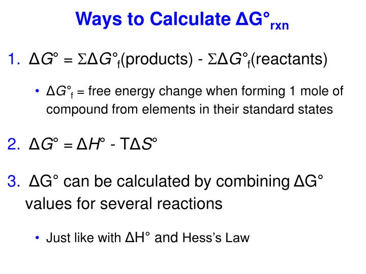 Ways to Calculate