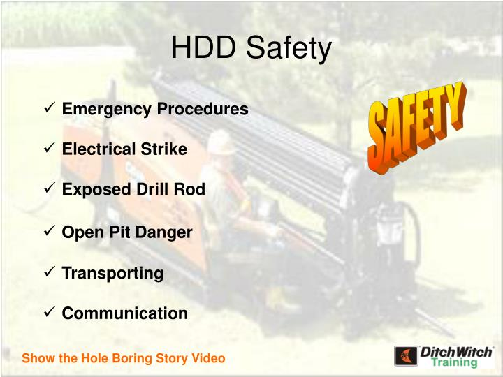 Hdd safety