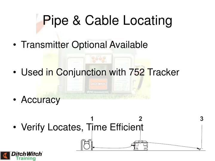 Pipe & Cable Locating