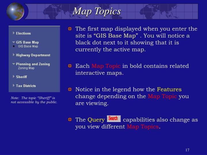 Map Topics