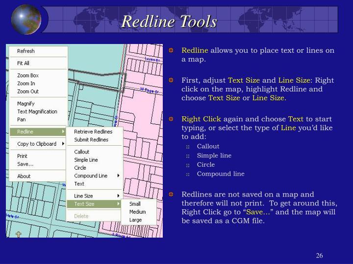 Redline Tools