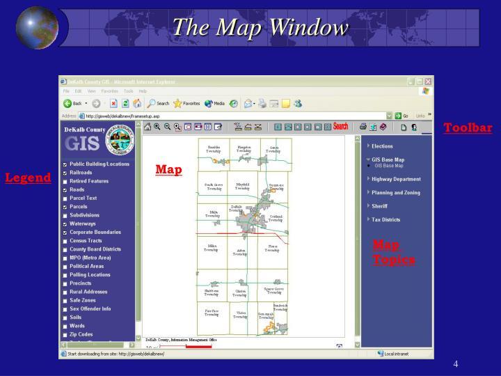 The Map Window