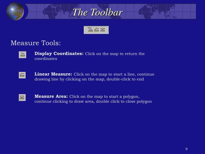 The Toolbar