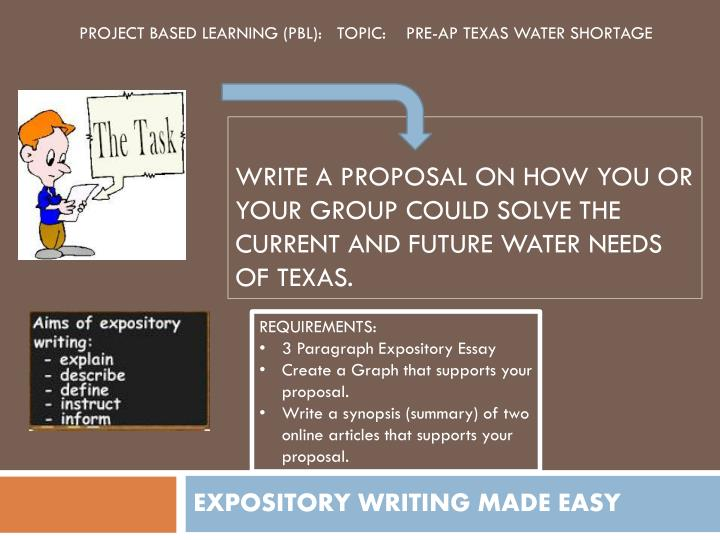 Expository writing made easy1