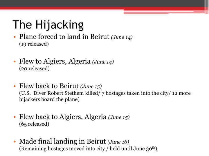 The Hijacking