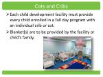 cots and cribs