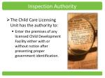 inspection authority