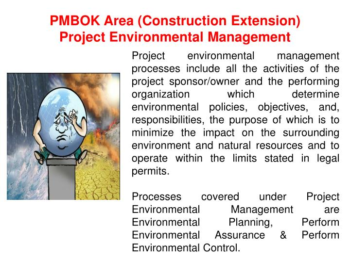PMBOK Area (Construction Extension)