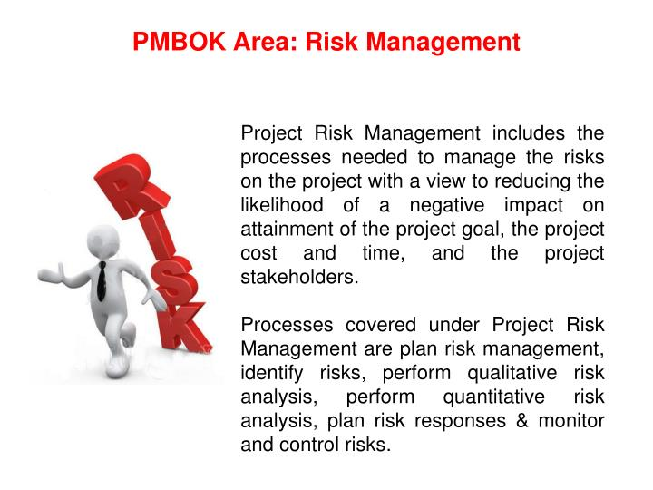 PMBOK Area: Risk Management